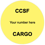 CCSF Labels & Tags