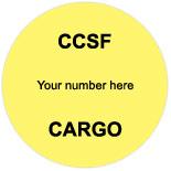 CCSF Labels & Tags